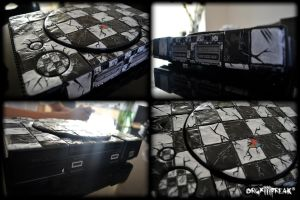 +Custom ''Checkmate'' Playstation 1+ by orgxiiifreak