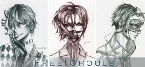 FREE ghouls crossover by unsolvedenigma
