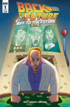 BIFF to the Future 1 cover by dfridolfs