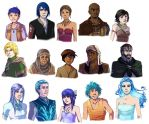 Eivaris: Everyone by elontirien