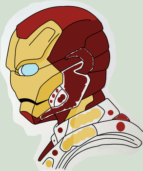 Ironman Color 3 by pantherboy