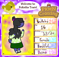 Pokemon Crossing - Application by Chocolatewoosh