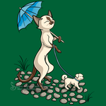 Caturday in the Park Shirt Design by SingapuraStudio