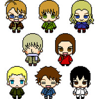 APH Axis and Allies Icon Set by Annie--chan