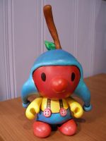 Cherry Clown Munny by Lou-Pimentel