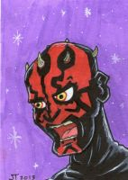 Darth Maul by johnnyism