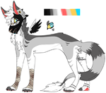 Canine Adopt 2(CLOSED) by NopeXoX