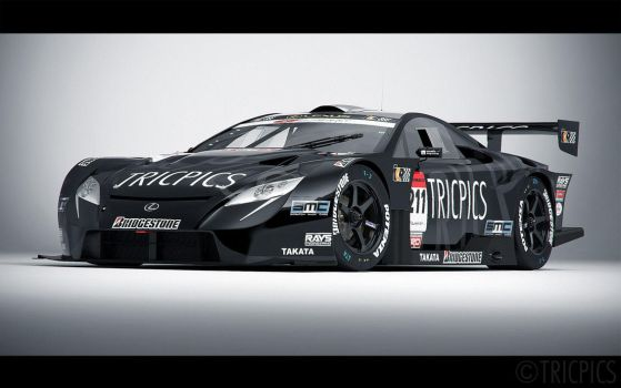 SuperGT GT500 LF-A 2007 Concept 2 by The-IC