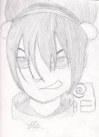 Toph Beifong by Jintia