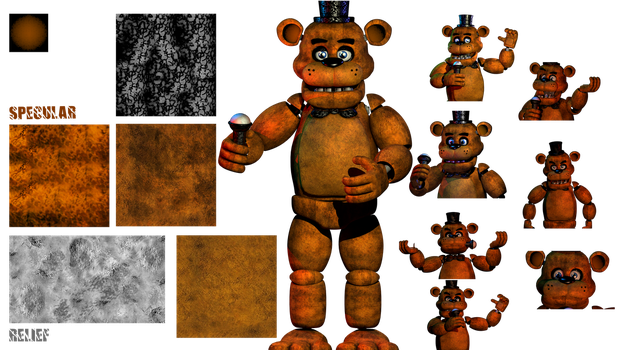 Freddy Texture 2.7 by YinyangGio1987