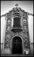Ornate Church Facade by mastercylinder