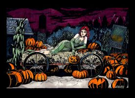 Halloween and Poison ivy by didism