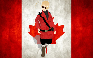 Bow before 2P!Canada! by ScarletCelest