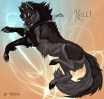 Kali Wolf Comish by TheTyro