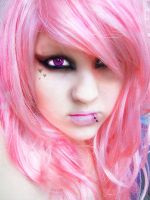 Cotton Candy Girl by allie-xx