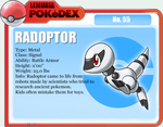 No.55 Radoptor by Sakuyamon