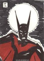 Batman Beyond Sketchcard by NexusDX