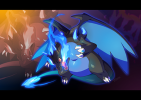 Mega Charizard X by Tomycase
