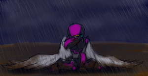 In the storm by Spartan0-0-0
