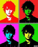 Billie Joe Pop Art by WarholDisciple