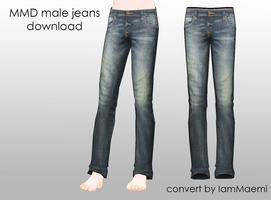 MMD Male Jeans + DL by IamMaemi