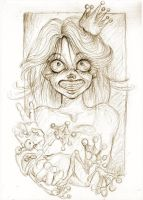 Petronella and the Frog by kamarza