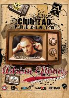 flyer Club TAO - AdrianEftimie by semaca2005