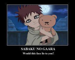 Young Gaara by Sabrina-and-Cookie