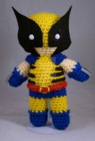 Wolverine Amigurumi by pirateluv