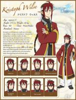ToDA: Kristoph STATUS page by Lo-wah