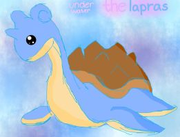 Seafoam the Lapras :: finished :: by iFailAtEverything