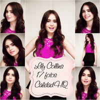 Photopack 1. Lily Collins. by IlovePhotopack