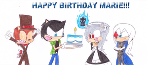 Happy Birthday Marie!!! by sonic4ever760