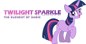 Twilight Sparkle presentation by Universe-of-Dusk