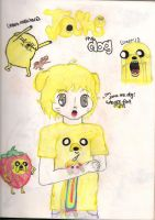 jake the dog by vulpixmassacre94