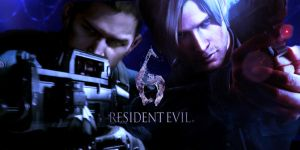 Resident Evil 6: Chris and Leon by romero1718