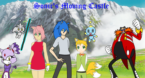 Sonic's Moving Castle by Sweetgirl333
