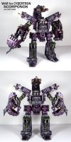 War for Cybertron Scorponok by Unicron9