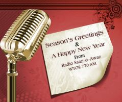 Radio Saazoawaz Greeting Card by aa3