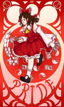 Seven Sinners of Gensokyo - Pride by Strawberry-Itchiko