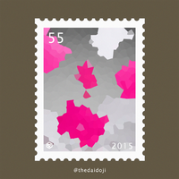 Postage Stamps - Winter Flowers PART 1 by TheDaidoji
