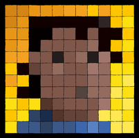 Betteo's Tile Portrait thing by theCHAMBA