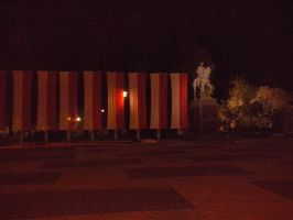 Lithuanian Square in Lublin by KaiShouri