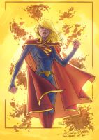Supergirl colors by Niggaz4life