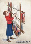 Drawing Books by Meltintalle