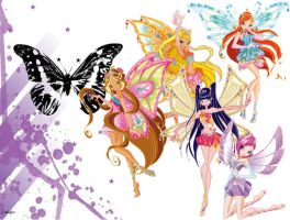winx club enchantix wallpaper by shadowcat1510