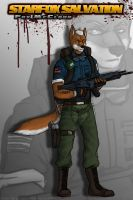Point commission - Fox McCloud by BlackKnife12