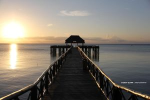 Sunset Pier by Cromium