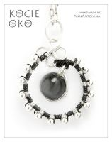Cat Eye - pendant by AnnAntonina