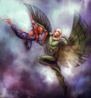 Spidey_Vulture by SpiderGuile by StephenSchaffer